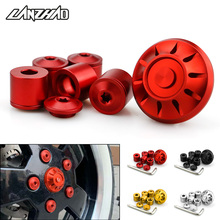 Motorcycle Hubcaps Wheel Side Covers CNC Aluminum Accessories for Piaggio Vespa GTS GTV 250 300 All Year 2017 2018 2019 2020