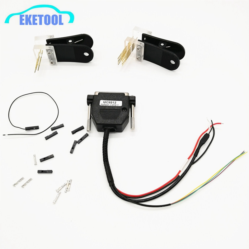 Auto Data Reading Socket Clip With MS9S12 Reflash Cable V1 For BMW CAS4 Without Soldering Works VVDI Prog