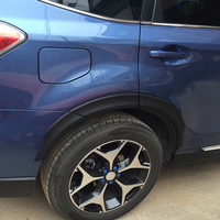 For Subaru Forester 2014 2015 2016 2017 2018 Car Wheel Eyebrow Trim Rubbing Bumper strip Decorative stickers Car Accessories