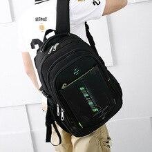 Backpack Students School Bag Earthquake-resistant Computer Recreational Mens Travel  Bookbag