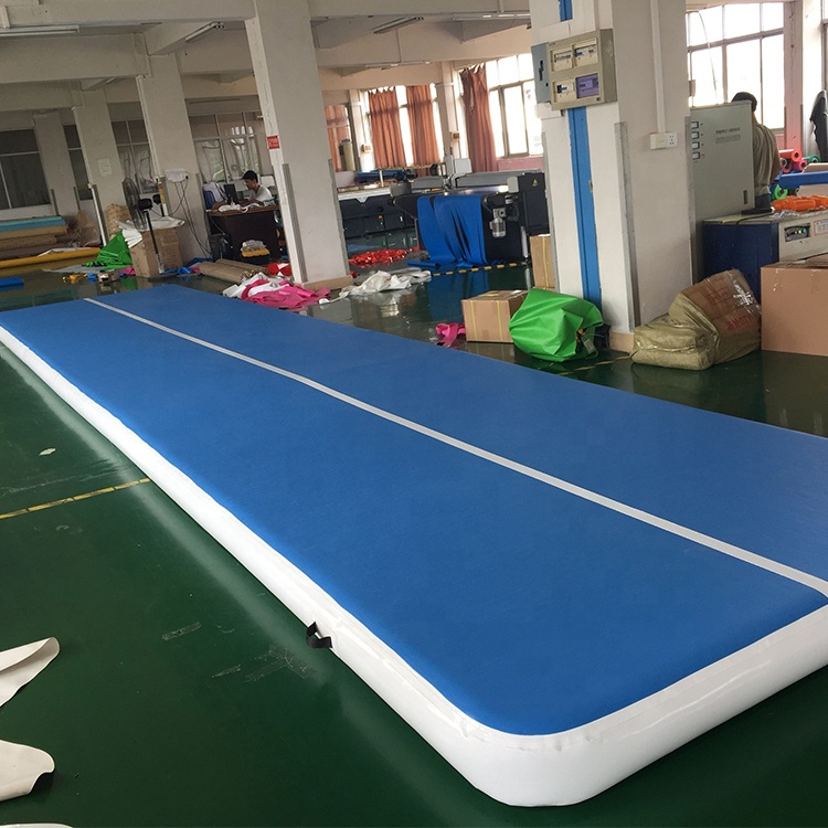 Big Size Inflatable Airtrack With Free Pump (6m 7m 8m)*2m*0.2m Gym Mat For Training DWF Tumbling Track Mats/6M Air Floor/Bouncer