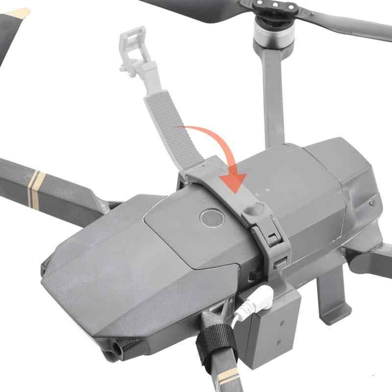 RC طائرة قاذف ل DJI Mavic برو الطائرة بدون طيار الزفاف اقتراح تسليم الهواء إسقاط النقل هدية المظلة الطائرات r60