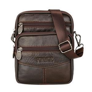 Hot Mens Leather Small Messeng