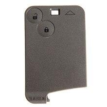 مفتاح بعيد قذيفة علبة فوب 2 أزرار السيارات استبدال بطاقة مفتاح قذيفة يغطي لرينو لاغونا Espace