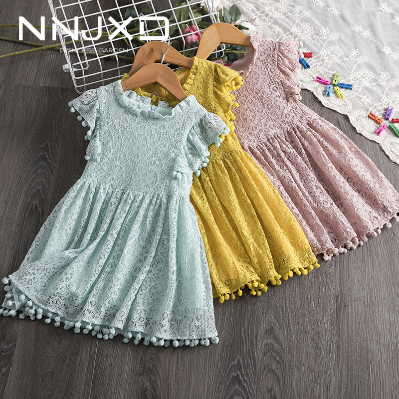 2020 Summer Fashion Unicorn Dress for Girls Clothes Kids Unicorn Costume for Princess Party Girls Lace Dresses Children Wear 1