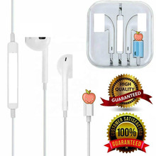 High Sound Quality For iphone Cell Phone Headset Control Microphone 8pin Handfree