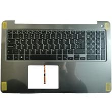 NEW LA laptop keyboard for DELL INSPIRON 15 5565 5567 with palmrest upper cover Backlit keyboard