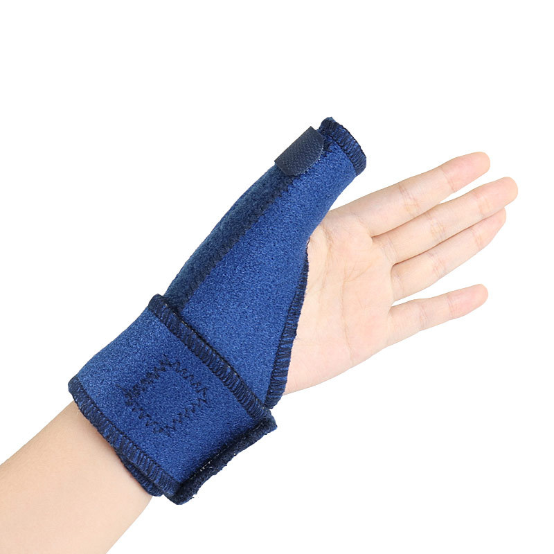 Metal Plate Holder Large Thumb Sheath Fixed Thumb Fixing Band Steel Bar Support Sports Wrist Protector Protective Case
