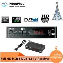 Sintonizador de TV DVB-T2, dispositivo de TV Digital, DVB T2, Receptor Wifi, DVBT2, DVB-C, H.265, HEVC, AC3, HD, DVB C