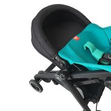 Akcesoria dla wózków dziecięcych przedłużenie siedziska poduszka przedłużająca płyta zagłówkowa do GB Goodbaby Pockit