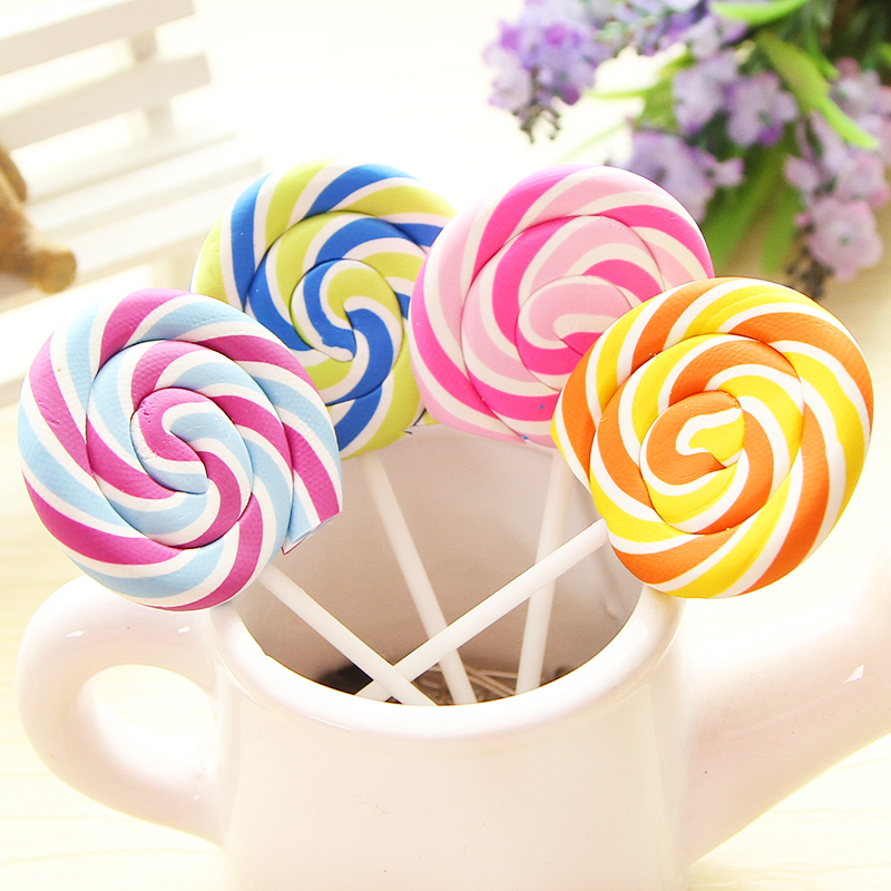 1pcs/lot  Kawaii Novelty Kids Gift Lollipop Design Student Stationery Cute Stationery Gifts
