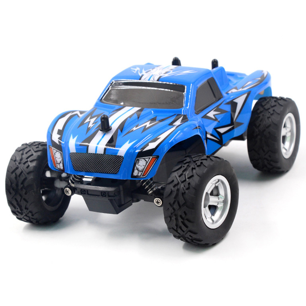 HOT RC Car Toy Red/Blue Anti-throw HELICMAX/K24-2 1/24 <font><b>Scale</b></font> 2.4Ghz 2 <font><b>Wheel</b></font> Drive Car Remote Control image