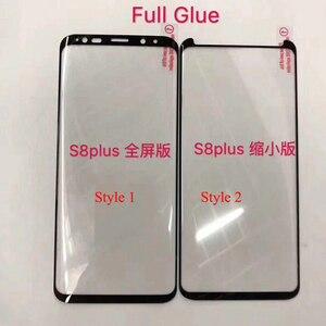 Image 3 - 10 chiếc Full Keo Bảo Vệ Màn Hình Trong cho Samsung S8 Plus 3D Cong Full Keo Dán Kính Cường Lực cho S9 Plus note 8 9 10 S10
