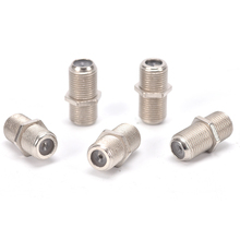 Coupler-Adapter Antenna-Extension Coaxial-Cable TV Female for F/F-Rg6 10pcs Connector-Plug