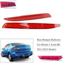 ZUK Rear Bumper Fog Light Fog Lamp Reflector Light Lamp For Mazda 3 M3 Sedan Hatchback 2011 2012 2013 2014 2015 Car Styling