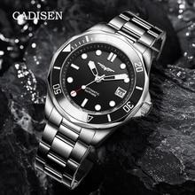 Cadisen Heren Horloges Mannen Mechanische Horloges 2021 Top Merk Luxe Automatische Horloge Voor Mannen NH35 Rvs Klok Reloj