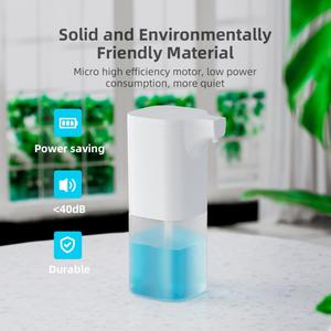 250/300/350ml Smart Automatic Foam Soap Dispenser Infrared Sensing no touch Induction Liquid Foaming Hand Washer Kitchen Bathroo