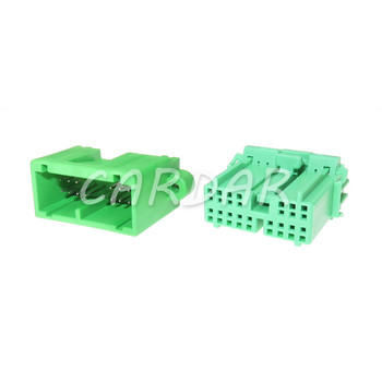 1 Set 16 Pin IL-AG5-16S-D3C1 Automotive Plug PCB Board Socket Connector For Car Wire Wiring Harness image