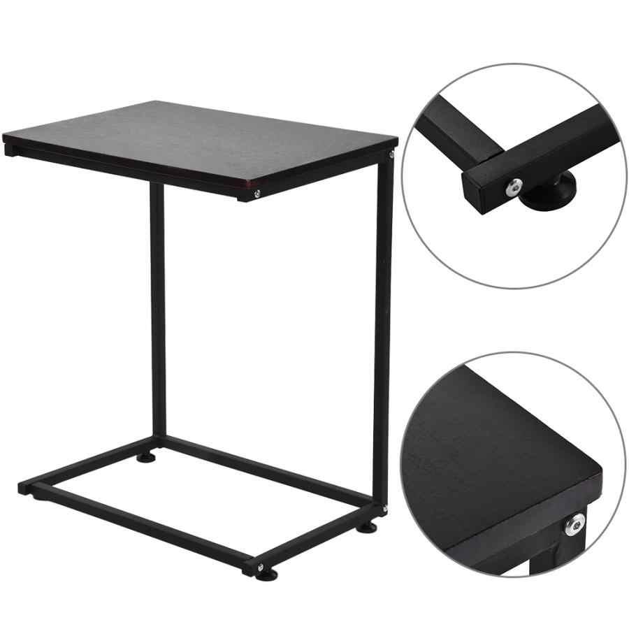 Консольный стол, диван, боковой торцевой стол, уникальный c-образный стол, компьютерный ноутбук, держатель, портативная рабочая станция, cofee