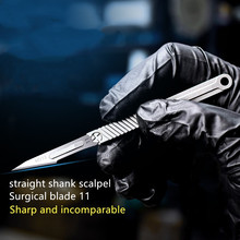 Titanium Alloy Mini Straight Shank Sharp Knife Sharp Knife EDC Portable Box Key Knife