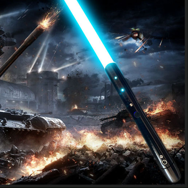 New 21Types 1 Pcs Cosplay Lightsaber With Light Sound  Saber Alloy Skywalker Sword 100 Cm Toy Gift Boy Birthday Gift