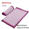 Mat pillow Purple