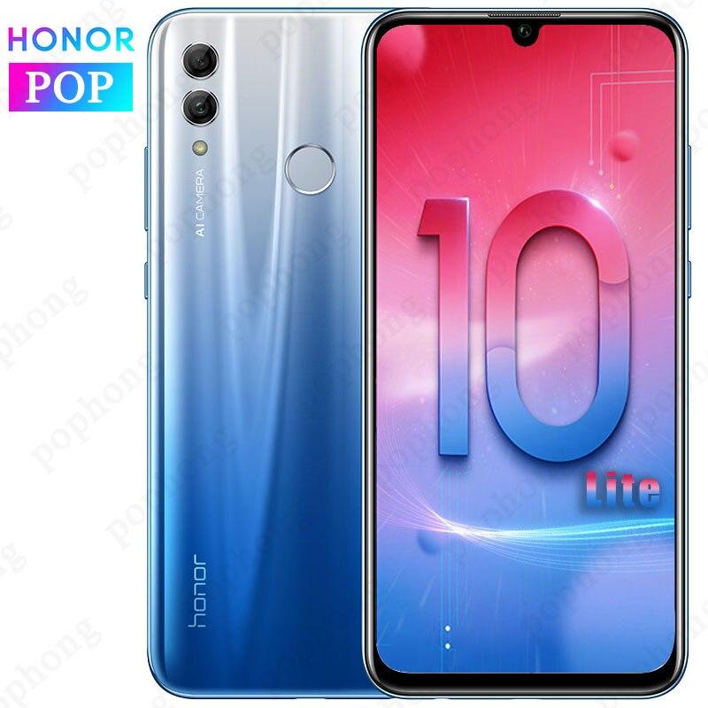 Originele HONOR 10 Lite Mobiele Telefoon 6.2 inch Full Screen Android 9.0 24MP AI Camera Vingerafdruk Smartphone-in Mobiele Telefoons van Mobiele telefoons & telecommunicatie op AliExpress - 11.11_Dubbel 11Vrijgezellendag 1