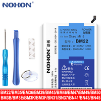 NOHON BM22 BM35 BM36 BM39 BM47 BM49 BN41 BN45 BM32 Batterie Für Xiaomi Mi 5 6 4 4C 5S 8 Pro Redmi 3X Hinweis 4 5 Ersatz Bateria