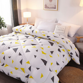 New Design Thick Warm Lamb Comforter Quilt Winter Bedroom Quilt Cover With Core Adults Twin/king/queen Size Bedding Blankets
