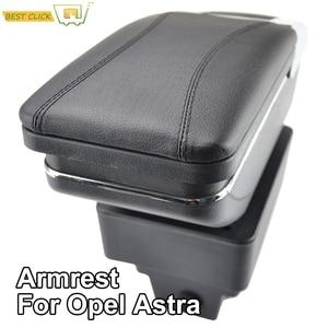 Image 1 - Armlehne Für Opel Vauxhall Astra J Arm Rest Dual Layer Storage Box Dekoration Auto Styling 2009 2010