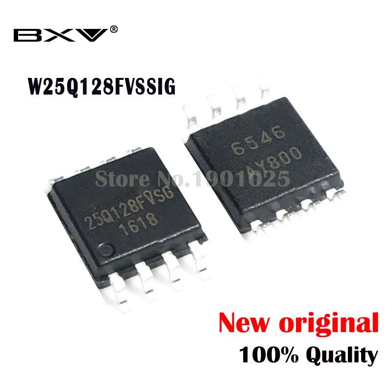5pcs W25Q128FVSSIG W25Q128FVSIG W25Q128FVSG 25Q128FVSSIG SOP-8 25Q128FVSG 25Q128 New Original