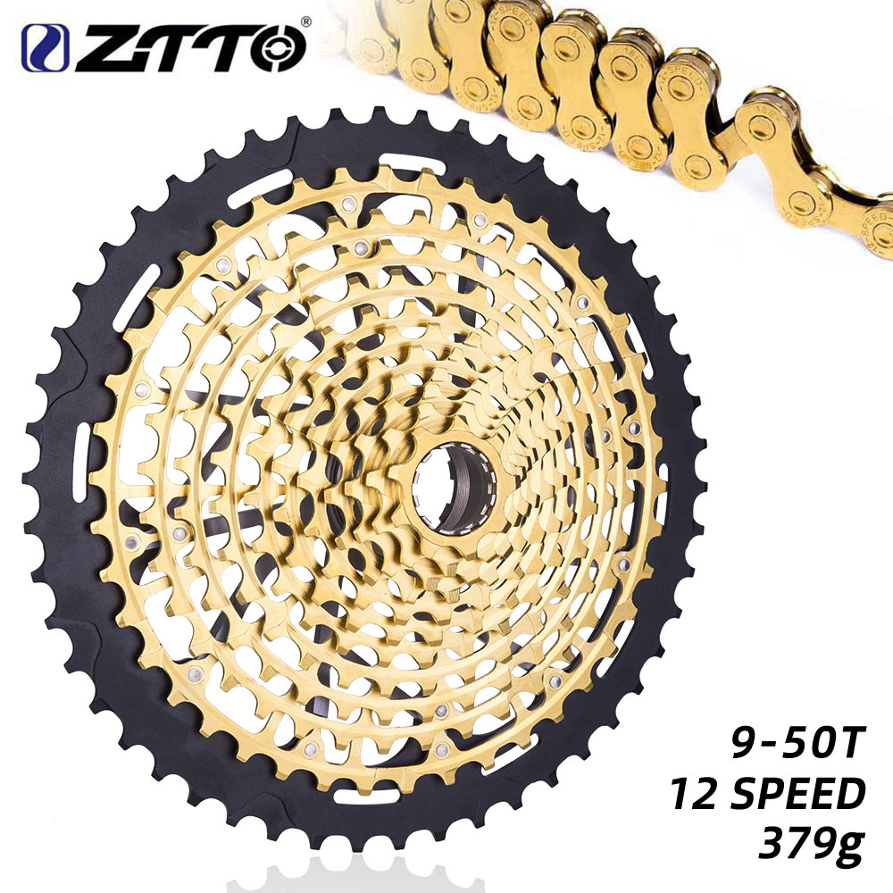 ZTTO MTB 12 Speed 9-50T Bicycle Cassette 12S XD Full steel 9T 12Speed Mountain Bike Freewheel Sprocket(China)