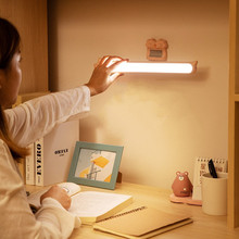 Multi-function USB rechargeable LED desk lamp magnetic suction night light student dormitory learning eye protection table lamp все цены