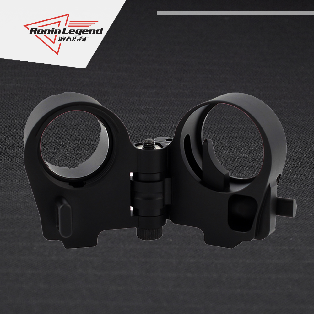 Ring tactical folding nut back adapter AR Folding Stock Adapter 2021 New Recommends