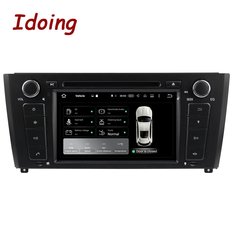 Idoing 2G Android7.1 1Din Steering Wheel For BMW E81/82/87/88 Quad Core Car Multimedia Player TV Fast Boot Built in 3G Dangle - 2