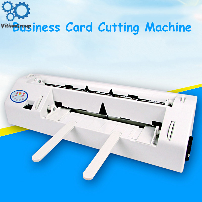 A4 SIZE Heavy-duty Fine-tuning Electric Business Card Cutting Machine Automatic Business Card Machine Cutting Machine 220V