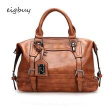 Women Ladies Shoulder Bags Brand Satchel  Leather Purses And Handbags Black Business Bag Bolsas Feminina