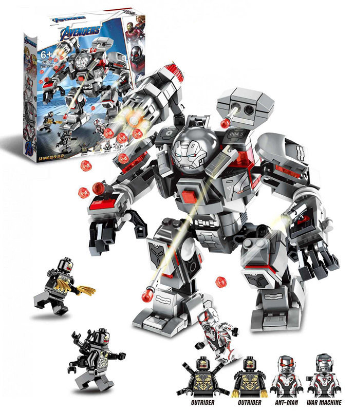 New Marvel Superhero Toy Compatible With Legoinglys 07120 76124 War Machine Buster Set Building Block Brick Assembly Gifts