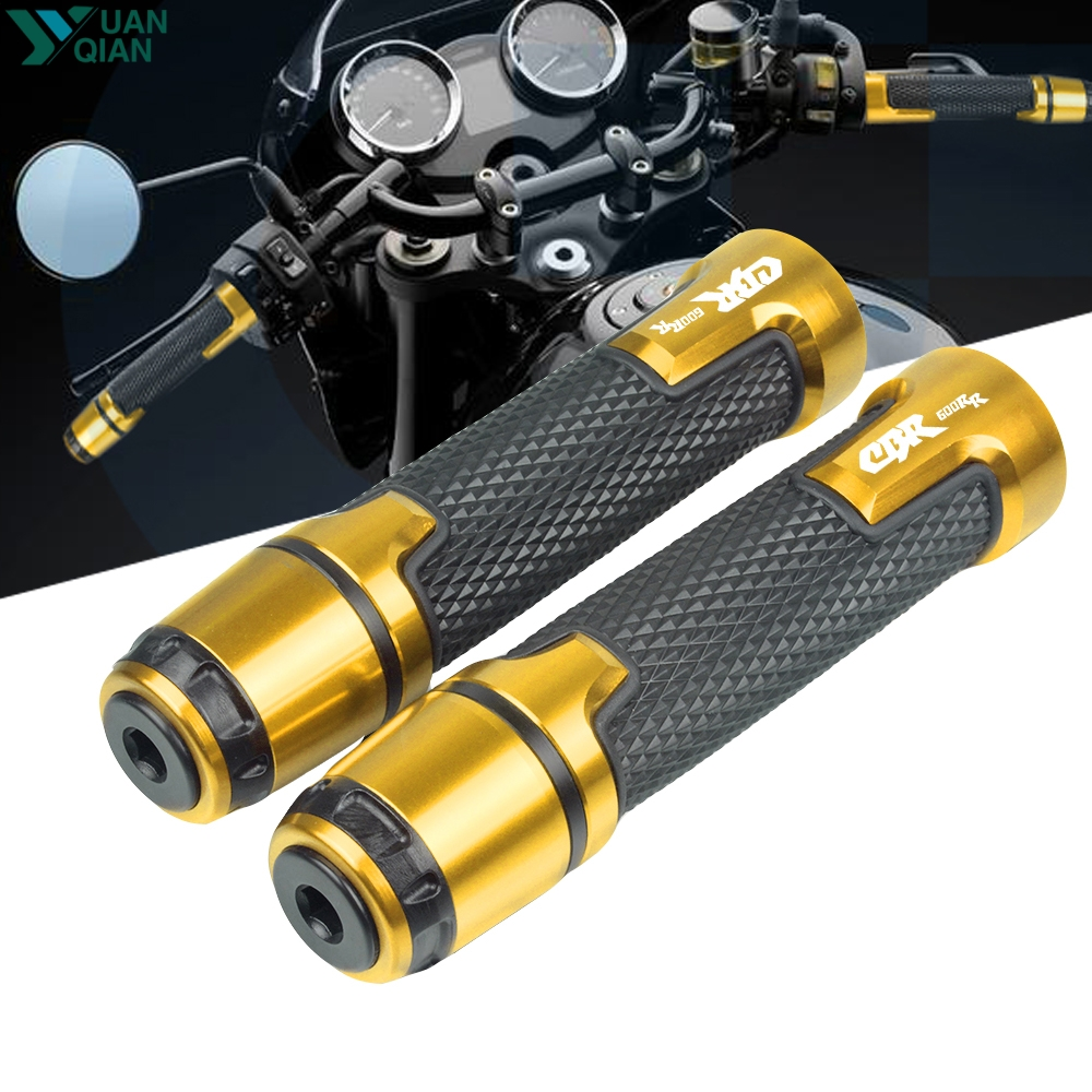 New Motorcycle Handle Grip Ends Handlebar Grips For Honda CBR600RR CBR 600 RR CBR 600RR 2003 2004 2005 2006