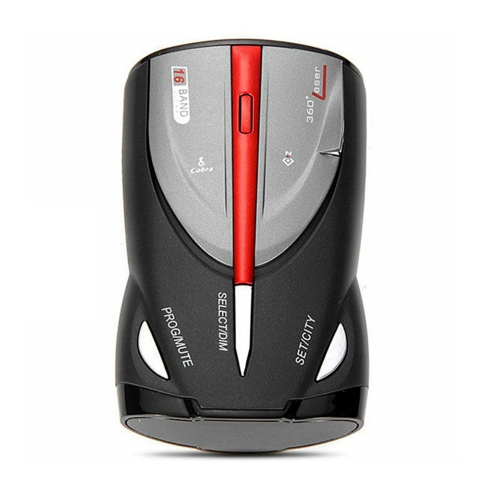12V 16-Band Cobra XRS 9880 Laser Anti Radar Car Detector 360 Degree Led Display Drop Shipping