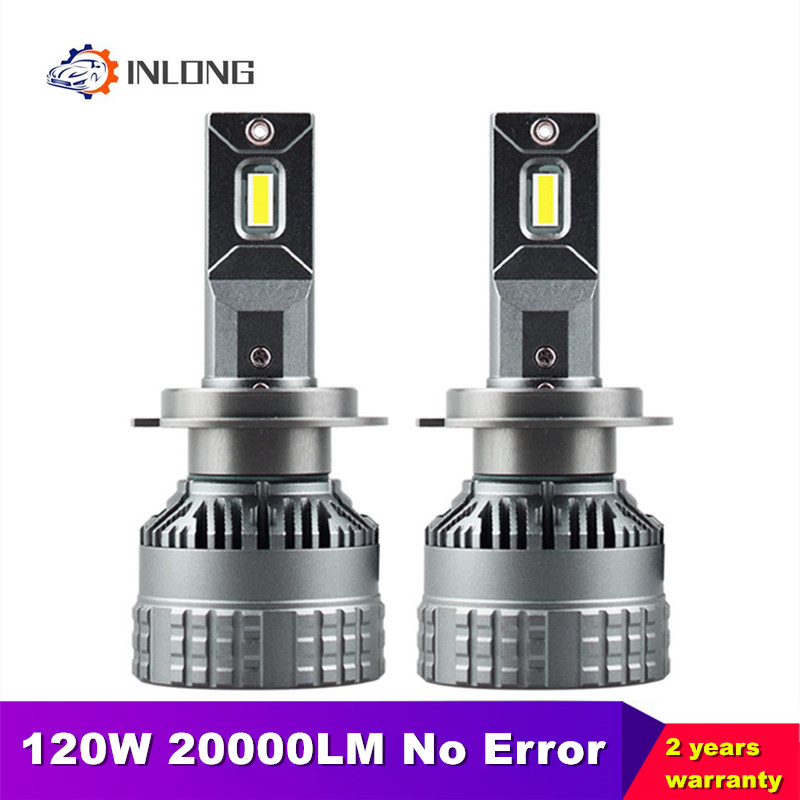 INLONG H4 <font><b>H7</b></font> Led Headlight Bulbs No Error H11 Auto Led lamp H9 H1 H8 9005 hb3 9006 hb4 120W <font><b>2000LM</b></font> Headlamp Fog Lights 6000K 12V image