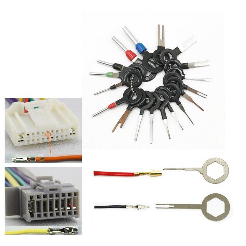 Strumento di Rimozione Terminale FANDE 36PCS Car Plug Circuit Board Pin ExtractorCar Electrical Wiring Crimp Connettore Pin Extractor Kit per Auto Elettrico Connettore A Crimpare