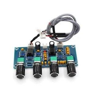 Image 5 - Placa amplificadora de som repalhável ne5532, equalizador ajustável de graves agudos e áudio, pré amplificador com controle de tom