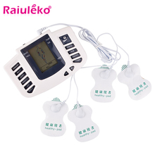 Tens Acupuncture Ems Massager Electro Stimulation Muscle Stimulator Electrostimulator Fisioterapia Physiotherapy Machine 16 Pads