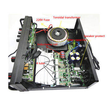 Усилитель мощности SUNBUCK 326BT, 2*60 Вт, Bluetooth 4