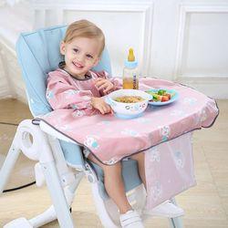 Pasgeborenen Bib Tafel Dekken Eetkamerstoel Gown Waterdichte Speeksel Handdoek Burp Schort 23GD