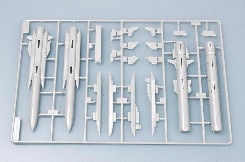 pelo ar, modelo de pintura de construção de plástico 03301
