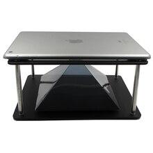 Holographique 3D Projection pyramide bricolage pour 7 à 10.1 pouces tablette PC téléphone projecteur cadeaux de noël