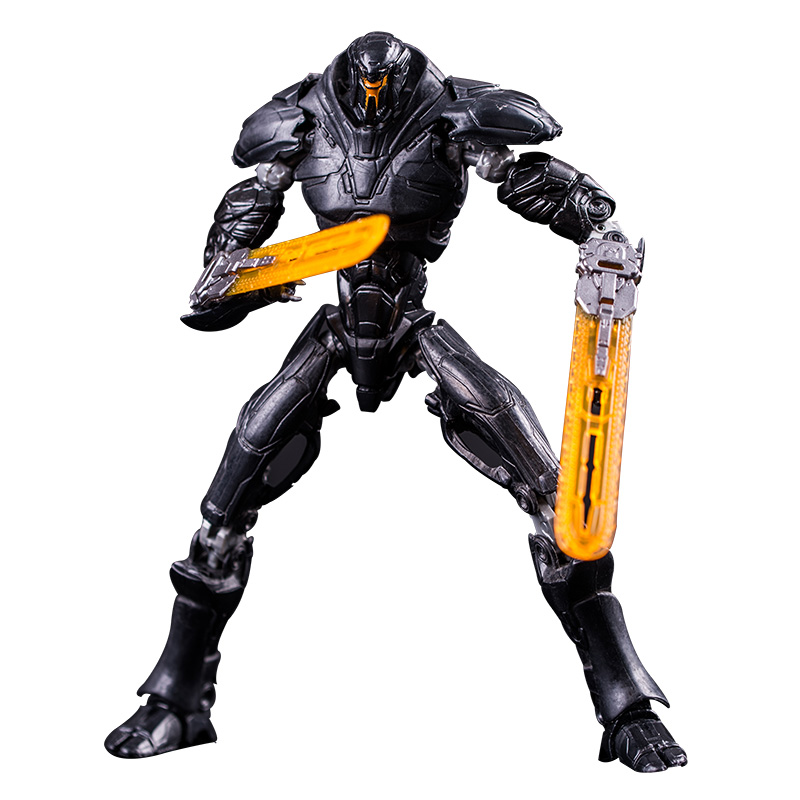 18cm Pacific Obsidian Fury 6th Warrior Rim PVC Moved Figuritas Action Figure Collectible Model Toys