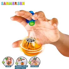 Cool Novelty Toys Electronic Magnetic Balls Magnetic Creative Toy Controlled Finger Induction With Power Ring Toy For Kids Adult
